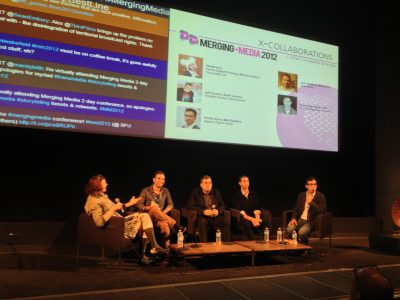 Moderating at Merging Media
