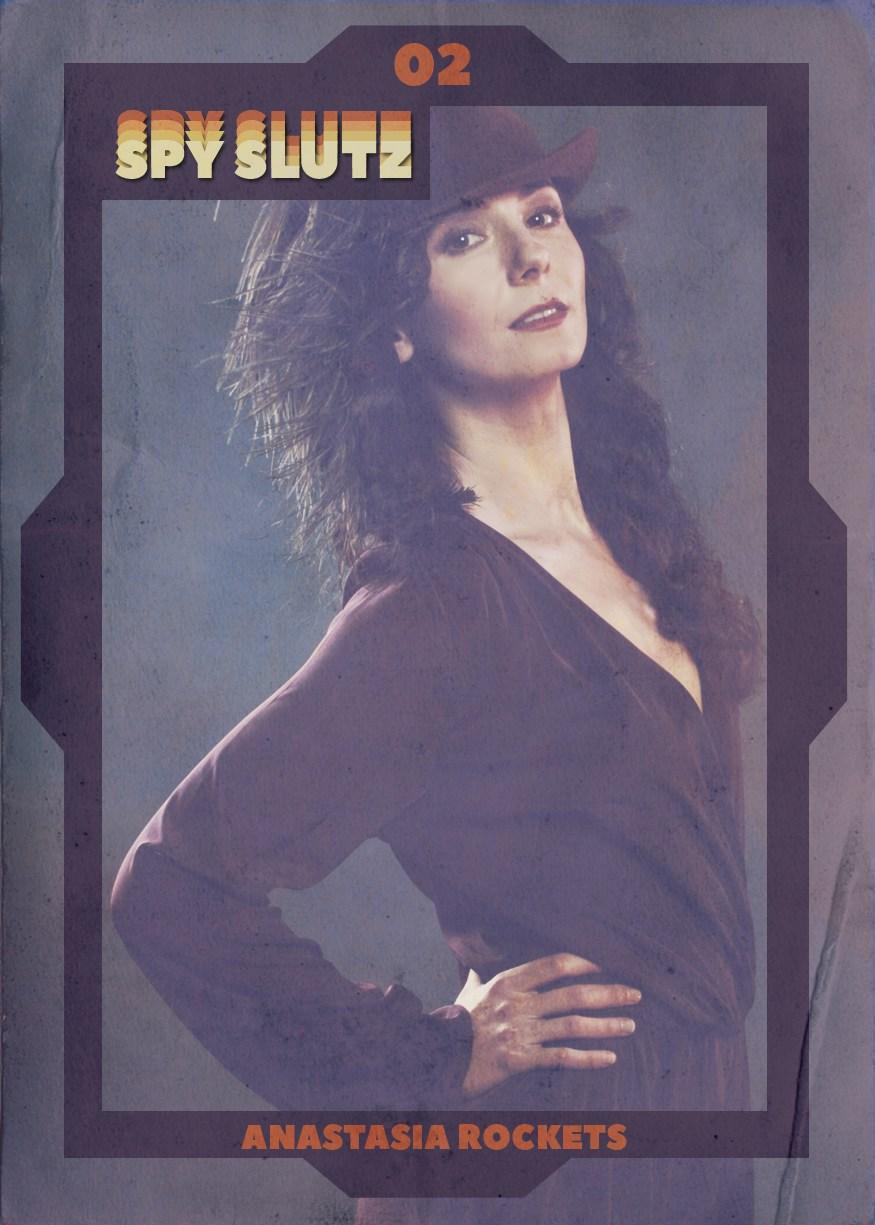 Spy Slutz tv trading card 02