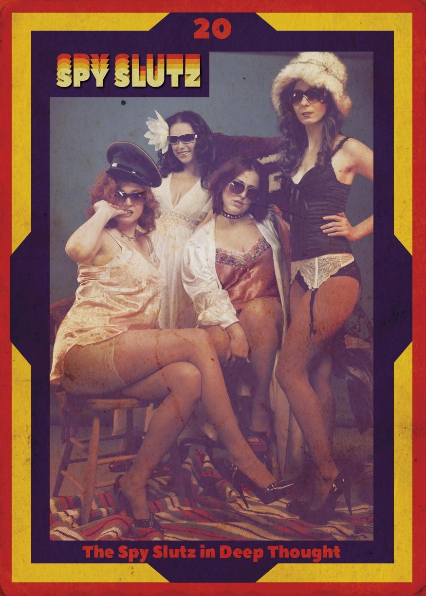 Spy Slutz tv trading card 20