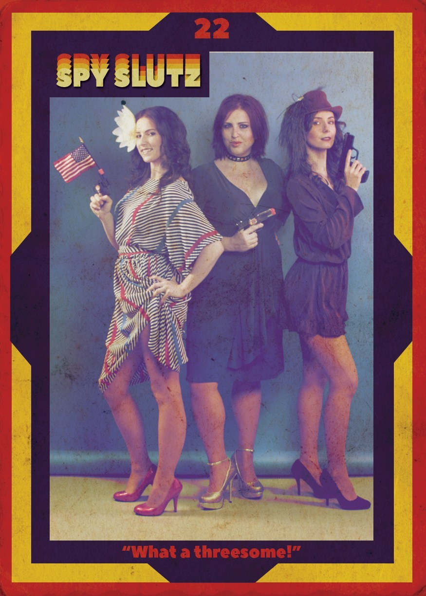 Spy Slutz tv trading card 22