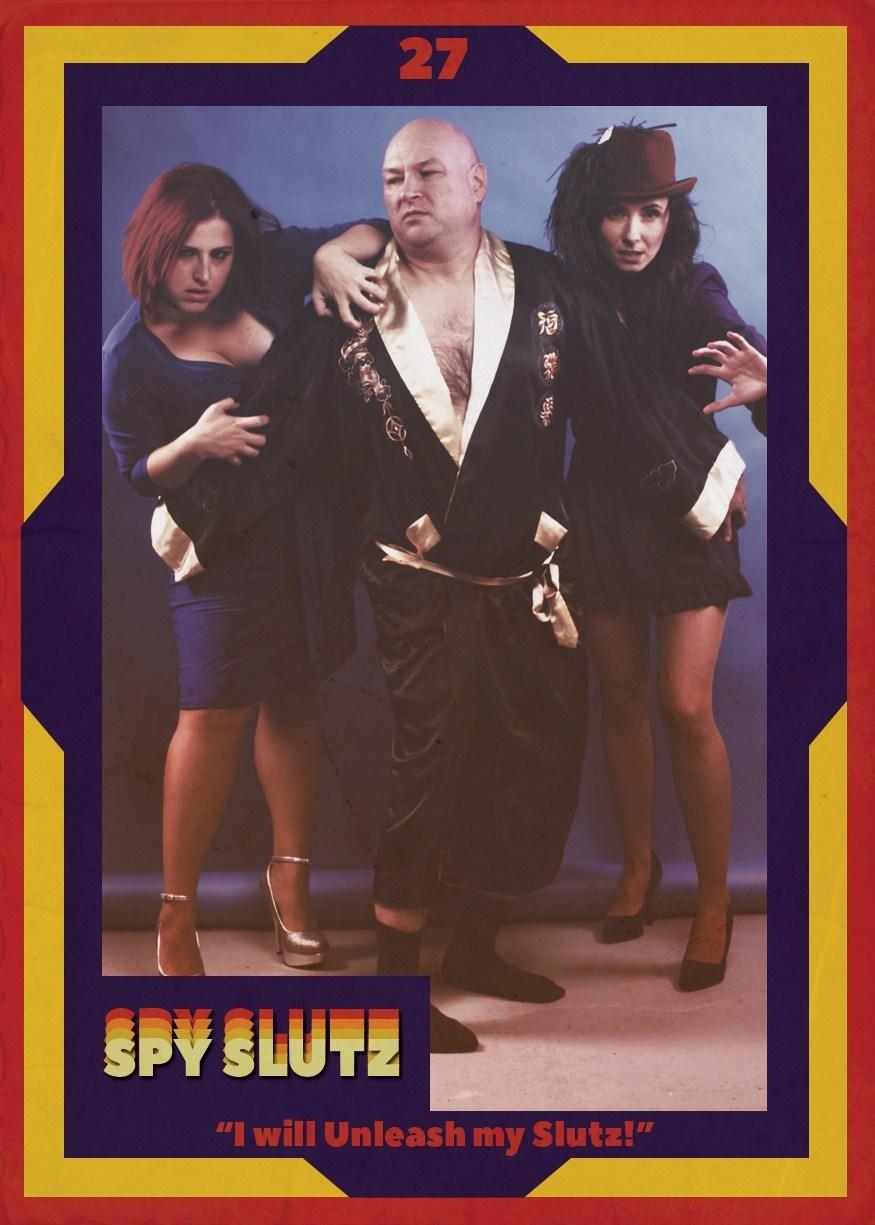 Spy Slutz tv trading card 27