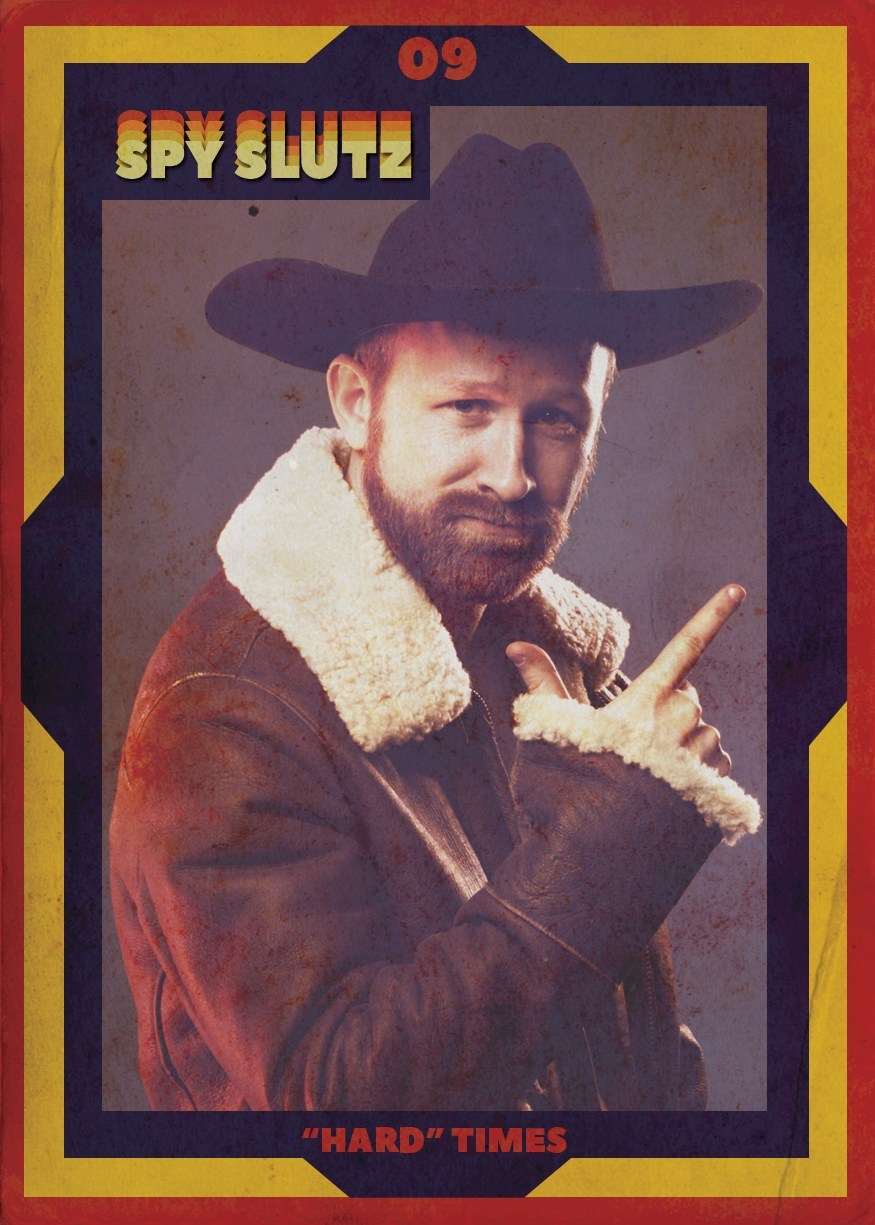 Spy Slutz tv trading card 09